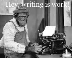 Ape Writing is Work