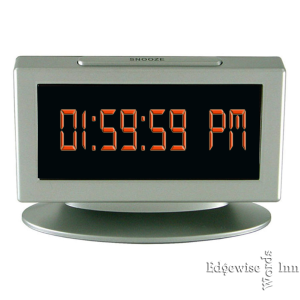 Digital Clock Face