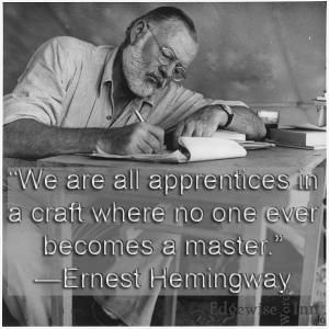 Ernest Hemingway Quote 1