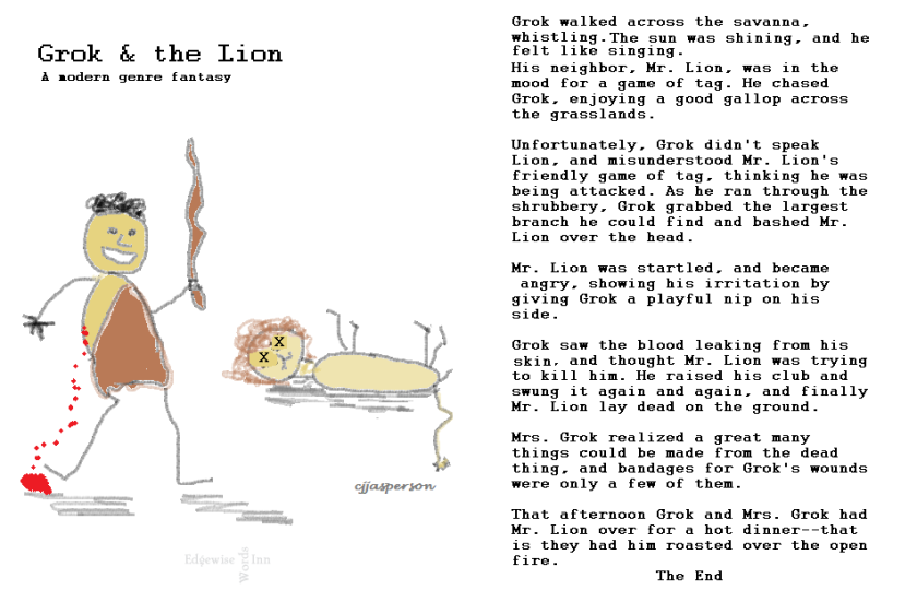 Grok and the Lion