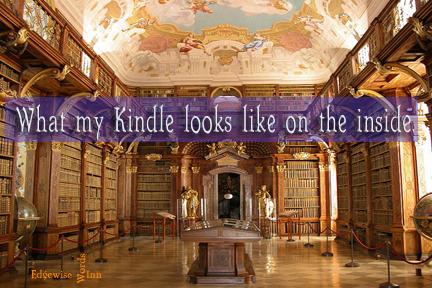 What My Kindle Looks Like on the Inside Meme