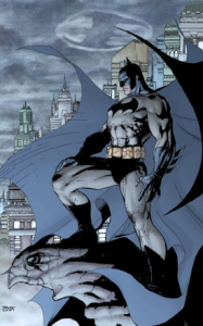 Batman--Pencils by Jim Lee and inks by Scott Williams (2002)