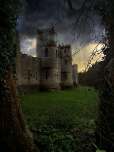 Sham Castle Folly, Bath England, at Sunset via Pinterest