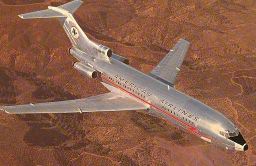 727 plane - 1970
