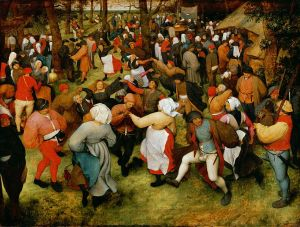 The Wedding Dance, Pieter Brugel the elder, ca 1566