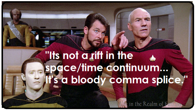 Comma Splice Meme