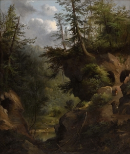 Robert S. Duncanson (1821-1872); The Caves; 1869; Oil on canvas; Amon Carter Museum of American Art, Fort Worth, Texas; 2012.8