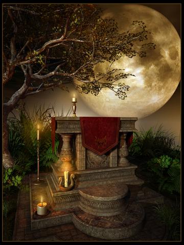 Altar In A Forest © Melkor3d - Dreamstime.com -