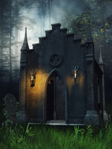 Old Stone Chapel In The Woods ©Unholyvault |Dreamstime